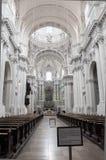 Binnen van de Theatine-Kerk (Theatinerkirche), München Royalty-vrije Stock Afbeeldingen