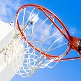 Binnen van een basketbal Royalty-vrije Stock Fotografie