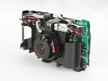 Binnen van een digitale camera stock fotografie