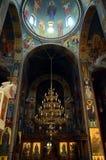 Binnen van een kerk Stock Afbeelding