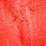 Binnen van een rijpe rode watermeloen Stock Afbeeldingen
