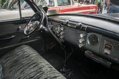 Binnen van een Uitstekende Buick-auto Royalty-vrije Stock Foto's
