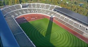 Binnen van het Olympische stadion van Olympiastadion, Stock Foto's