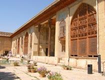 Binnen van Karim Khan-citadel in de stad van Shiraz, stock afbeeldingen