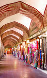 Binnen van Koza Han Where They Sell Silk Stock Foto's