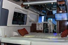 Binnen van Luchtstroom Klassieke auto Royalty-vrije Stock Afbeelding