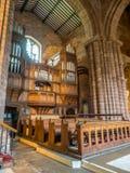 Binnen van Parochiekerk in Chester Stock Afbeelding