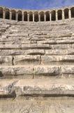 Binnen van Theater Aspendos Stock Afbeelding