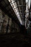 Binnen verlaten elektrische centrale Royalty-vrije Stock Foto