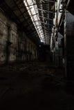 Binnen verlaten elektrische centrale Royalty-vrije Stock Fotografie