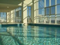 Binnen Zwembad Royalty-vrije Stock Afbeelding