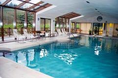 Binnen Zwembad Stock Foto