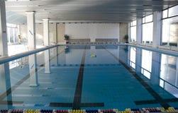 Binnen Zwembad Stock Afbeelding