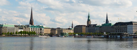 Binnenalster Stock Photo