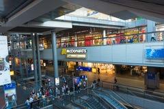 Binnenberlin central-station stock foto's