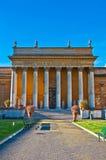 Binnenbinnenplaats van het Vatikaan Royalty-vrije Stock Afbeeldingen