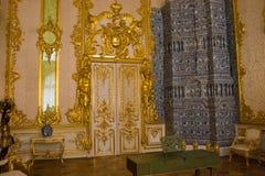 Binnencatherine palace in St. Petersburg royalty-vrije stock foto's