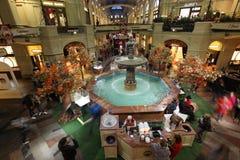 Binnengomwarenhuis ter ere van 120th Stock Afbeeldingen
