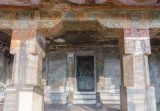 Binnenheiligdom van Chithannavasal-Holtempel royalty-vrije stock foto