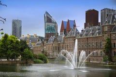 Binnenhof宫殿在海牙,荷兰 库存照片