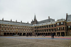 Binnenhof宫殿 免版税库存照片