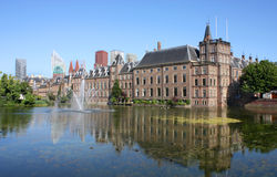 Binnenhof,小室Haag,荷兰 免版税库存图片