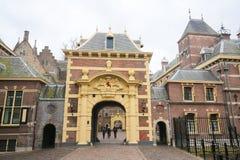Binnenhof,海牙,荷兰 库存照片