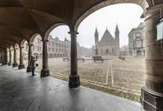 binnenhof Χάγη ridderzaal στοκ φωτογραφίες με δικαίωμα ελεύθερης χρήσης