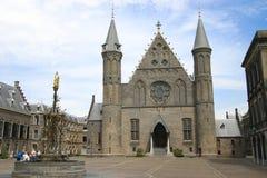 binnenhof Χάγη ridderzaal Στοκ εικόνα με δικαίωμα ελεύθερης χρήσης