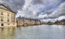 Binnenhof в Гааге, Голландии стоковые изображения