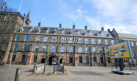 Binnenhof, Гаага, Нидерланды Стоковые Фотографии RF