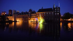 Binnenhof - голландский парламент, Голландия видеоматериал