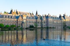Binnenhof - голландский парламент, Голландия Стоковое фото RF