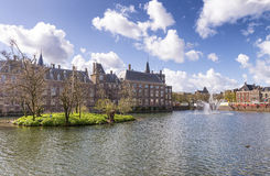 Binnenhof, голландский парламент - Гаага (вертеп Haag), Нидерланды Стоковая Фотография
