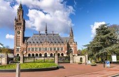 Binnenhof, голландский парламент - Гаага (вертеп Haag), Нидерланды Стоковая Фотография RF