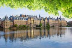 Binnenhof - голландский парламент, Голландия Стоковые Фотографии RF