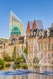 Binnenhof и горизонт в Гааге Стоковое фото RF