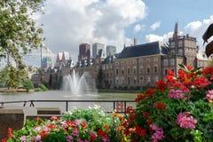 Binnenhof -荷兰语议会和政府 免版税库存照片