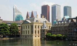 Mauritshuis-Binnenhof-De Hofvijver–The Haque Royalty Free Stock Photography