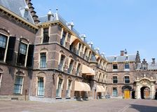 Binnenhof buildings for political The Hague Stock Photos