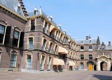 Binnenhof buildings for political The Hague Stock Photos