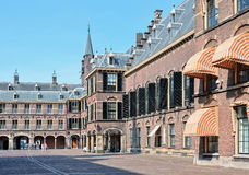Binnenhof complex in historical centre of Hague, Netherlands Stock Images