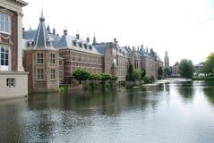 Binnenhof Den Haag Stock Afbeeldingen
