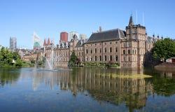 Binnenhof Den Haag, Nederländerna Royaltyfria Bilder