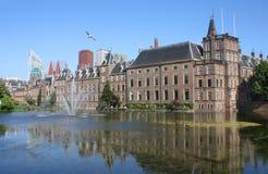 Binnenhof Den Haag, Nederländerna Arkivfoton