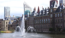 Binnenhof - Dutch Parliament and Government royalty free stock images