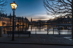 Binnenhof - Dutch Parliament and Government Stock Image