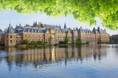Binnenhof - Dutch Parliament, Holland Royalty Free Stock Photos