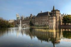 Binnenhof, Höhle Haag, die Niederlande stockfotografie