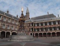 Binnenhof, The Hague, Голландия Стоковое Изображение